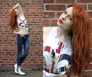 doc martins, redhead, and style image