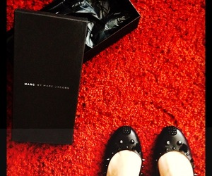 ballerina, black, and marc jacobs image