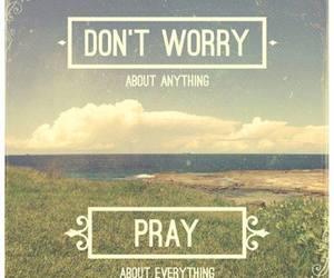 pray and god image