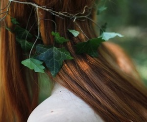 fairy, leaves, and nature image