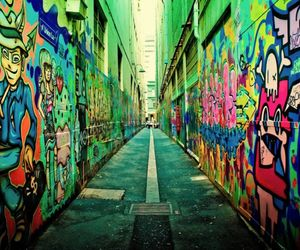 graffiti, street, and art image