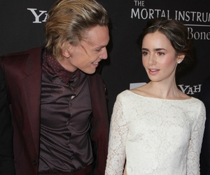 lily collins and jamie campbell image
