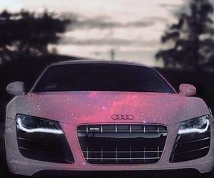 audi, car, and white image
