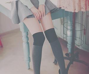 fashion, skirt, and korean image