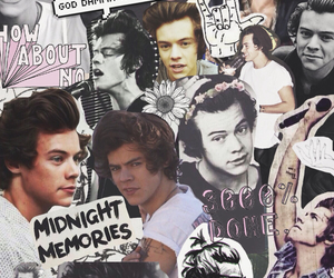 Collage, one, and harrystyles image