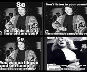 funny, jimmy page, and led zeppelin image