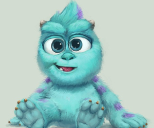 monster, disney, and baby image