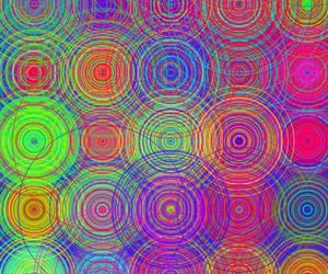 circle, colorful, and colors image