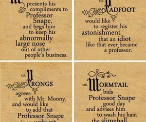 harry potter, prongs, and moony image