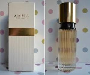 gold, perfume, and woman image