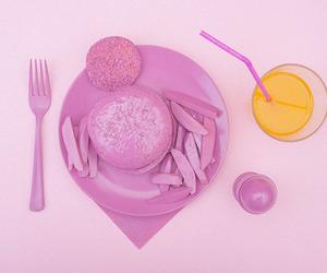 comida, rosa, and egg image
