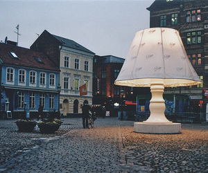 light, street, and lamp image