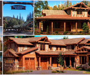 iron horse ranch and timberframe homes image