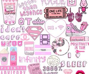 pink, starbucks, and wallpaper image