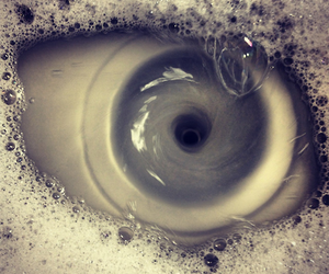 eye, water, and eyes image