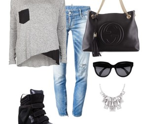 city, fashion, and clothes image