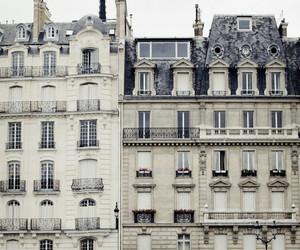 building, house, and paris image