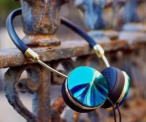 beautiful, fashion, and headphone image