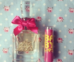 juicy couture, perfume, and baby lips image
