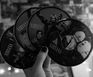 nirvana, rock, and cd image