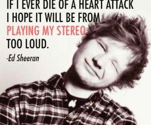 ed sheeran, quote, and music image