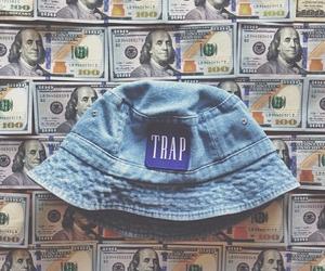trap, money, and cash image