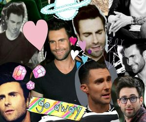Collage, yayy, and adam levine image