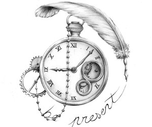 time and clock image
