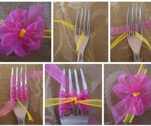 diy, flowers, and bow image