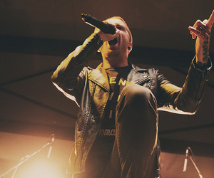 music, memphis may fire, and matty mullins image