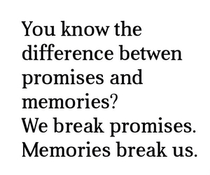 quote and memories image