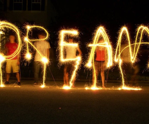 Dream, fireworks, and pretty image