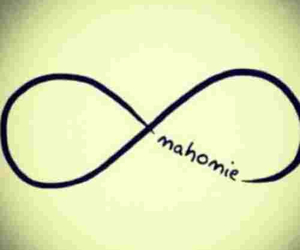 infinity, forever, and mahomie image