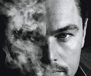 leonardo dicaprio, actor, and smoke image