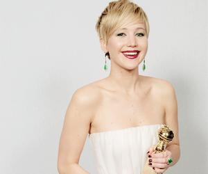Jennifer Lawrence, actress, and golden globes image