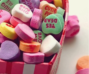 candy, valentine, and sweet image