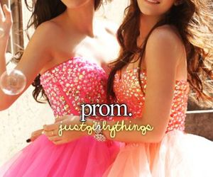 Prom, dress, and girly image