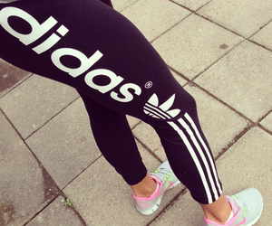 adidas, fitness, and nike image