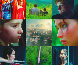 Jennifer Lawrence, catching fire, and hunger games image
