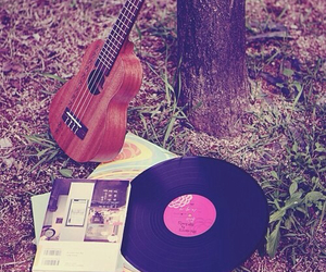 music, guitar, and vintage image
