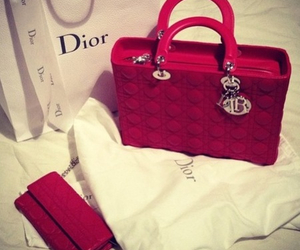 dior, bag, and red image