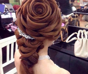 hair, makeup, and pretty image