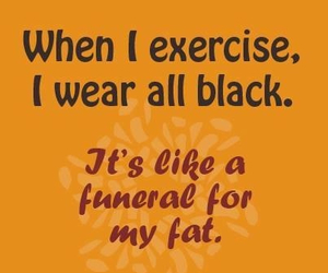 exercise, quotes, and black image