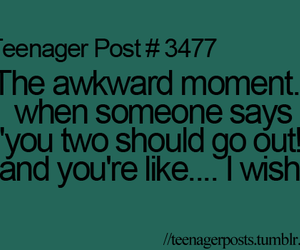 quote, awkward, and teenager post image