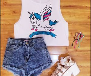 unicorn and fashion image