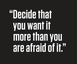 quotes, life, and afraid image