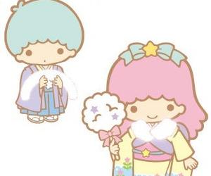 kawaii, sanrio, and little twin star image