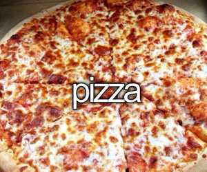 love, food, and pizza image
