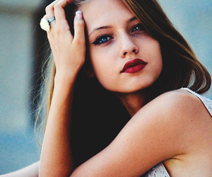 girl, beautiful, and blue eyes image