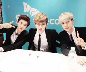exo, fansign, and exok image